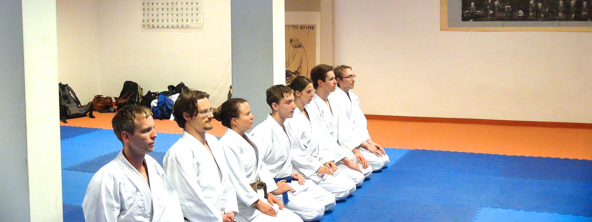 Kobukan Karate Training